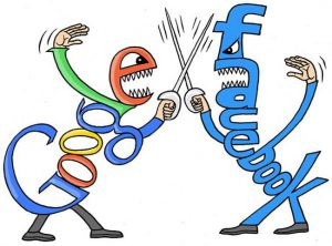 Google Vs Facbook