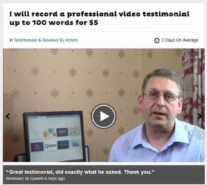 Brir Method Fiverr testimonial