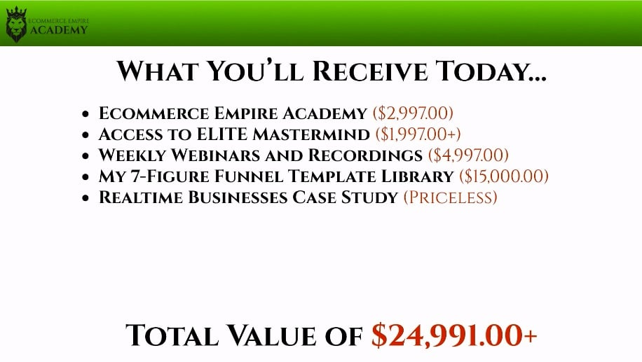 Empire Builders cost
