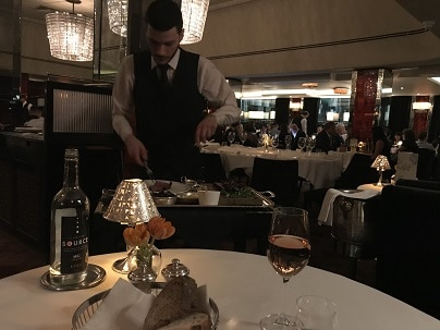 Savoy Grill Chateaubriand